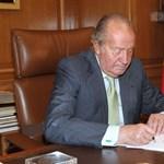 Így írta alá I. János Károly spanyol király a lemondását - fotó