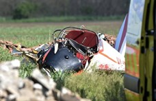 Lezuhant egy kisrepülőgép Törökszentmiklósnál