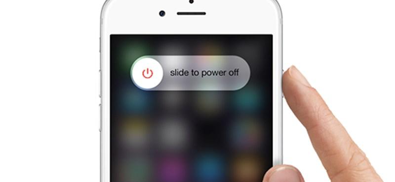 Van egy kis gond, váratlanul kikapcsol az iPhone-ok egy része