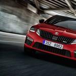 Újabb zöld rendszámos: jön a hibrid Skoda Octavia RS