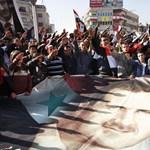 Ma sem úszták meg a könnygázt a szíriai tüntetők