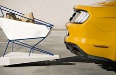 Zseniális ötlet a vészfékezős bevásárlókocsi