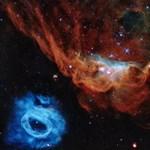 Fotó: Még 30 év után is ilyen gyönyörű képet készít a Hubble űrteleszkóp