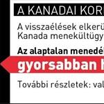 Kanadában megszűnt a magyar menekültáradat