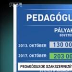 A PDSZ szerint hazudik a kormány a pedagógus bérekről