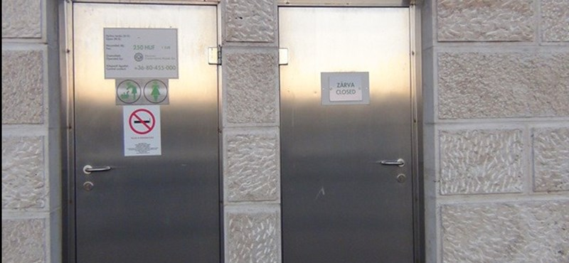 Mindössze 90 nyilvános vécé található Budapesten