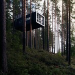 Ezekben a fára rögzített hotelszobákban bármikor megszállnánk egy éjszakára