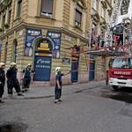 Fák dőltek ki az éjjeli viharban Budapesten