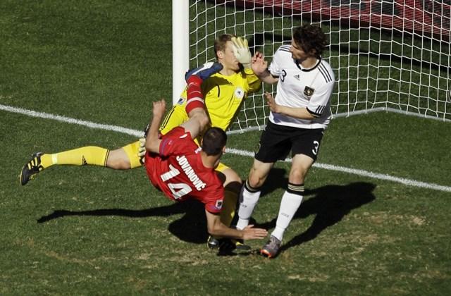 Foci-vb, Németország - Szerbia, Milan Jovanovics gólja