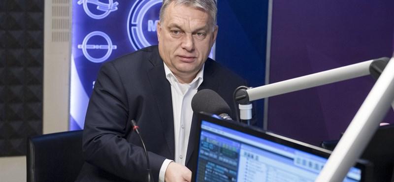Orbán Viktor: Nincs rá bizonyíték, hogy megkezdődött volna a fertőzés lassulása