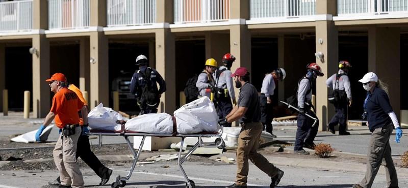 Oda még el sem jutottak a mentőcsapatok, ahol a legsúlyosabban pusztított Michael