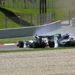 Így ütötte ki egymást Rosberg és Hamilton a spanyol GP-n – videó