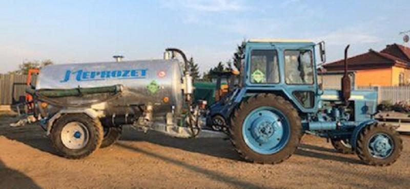Elloptak egy komplett traktort Debrecenben