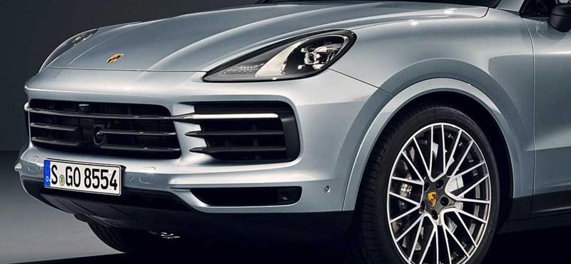 Sportos divatterepjáró: itt az új Porsche Cayenne S Coupe