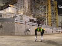 Szétnézett Csernobilban az egyik legjobban működő robot