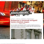 Térfigyelő kamera felvétele alapján büntetnek Budapesten