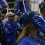 Írek demonstráltak a Brexit ellen
