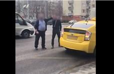 Gyanúsított lett az egymással pofozkodó taxis és buszsofőr