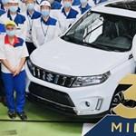 Esztergomban elkészült a 3,5 milliomodik Suzuki