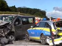 Válságos állapotban van a stuttgarti buszbaleset legsúlyosabb magyar sérültje