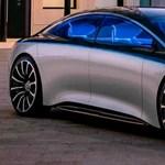 Videón is felbukkant a legnagyobb elektromos luxus Mercedes
