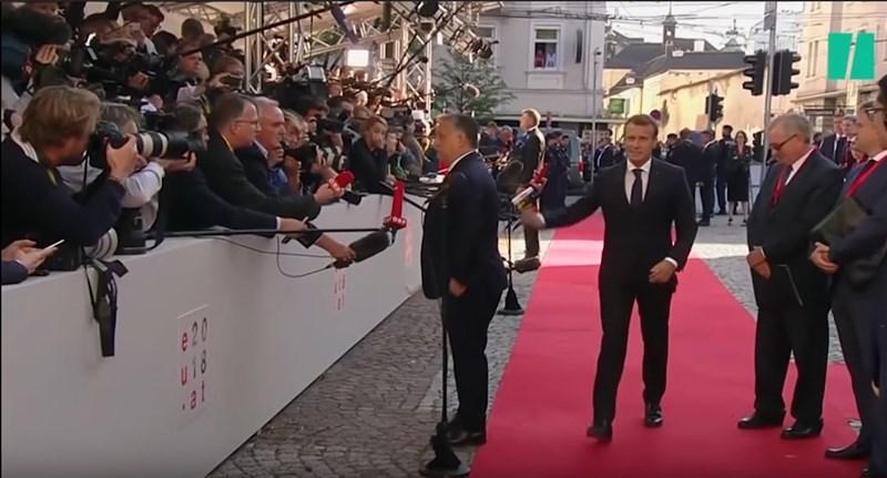 Török Gábor: Macron számára Orbán egy vudubábu