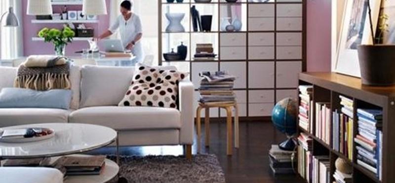 Az IKEA-ban a Rubik-kockát is elemenként árulnák