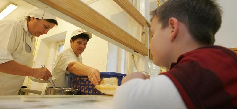 Egyre több az éhes diák a brit iskolákban