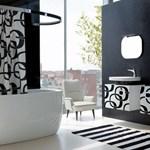 Fürdőszoba-divat: pinktől a feketéig