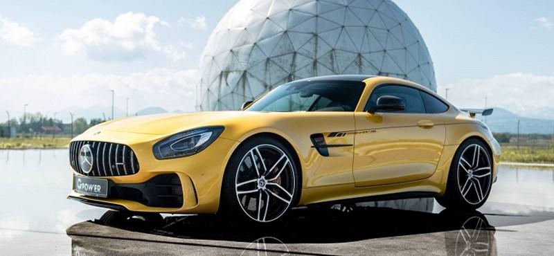 """Hozza a """"kötelező"""" 800 lóerőt a kicsit megcsippelt Mercedes-AMG GT R"""