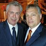 Fotó: A Real vezetőedzőjével pózolt a fáradt arcú Orbán Viktor