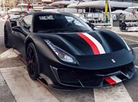 Csodás új Ferrarija van Charles Leclerc-nek
