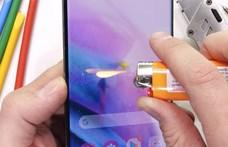 Karcolták, égették, törték: így bírja a strapát a Samsung Galaxy S21 Ultra