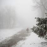 Már egy méter a hó vastagsága Kékestetőn