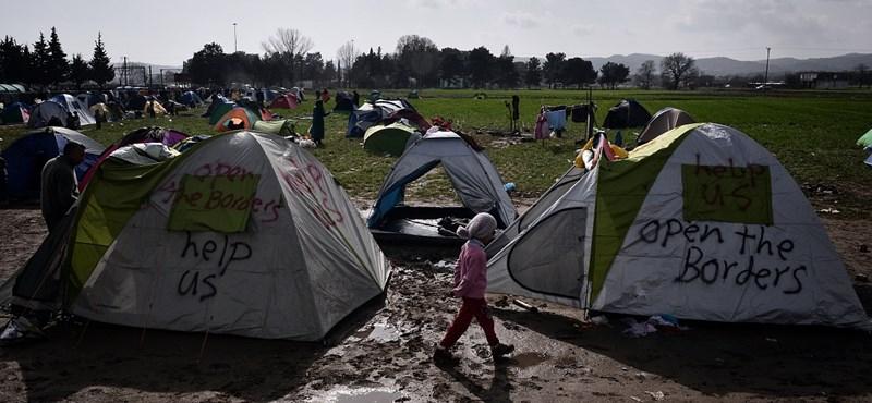 Görög miniszter: gyomorforgatóan néz ki az idomeni menekülttábor