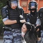 Moszkva: 200-nál is több embert csuktak le az engedély nélküli, ellenzéki tüntetéseken
