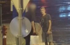 Egy kőbányai villamosmegállóban verekedő férfit keres a rendőrség