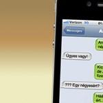 Hamisítsunk képernyőképet iPhone-os csevegésekről