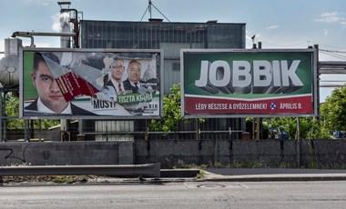 A Jobbik lett a kint hagyott választási plakátok rekordere