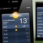 iOS 5 tipp: óránkénti időjárás-előrejelzés