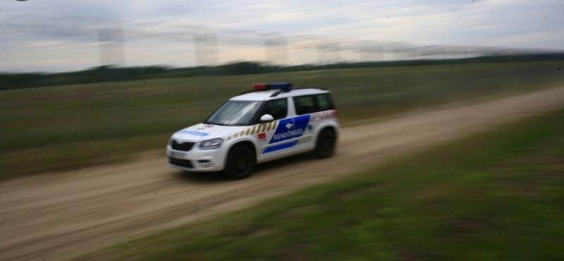 Letartóztattak egy férfit, aki szándékosan elütött egy motorost Bicskén
