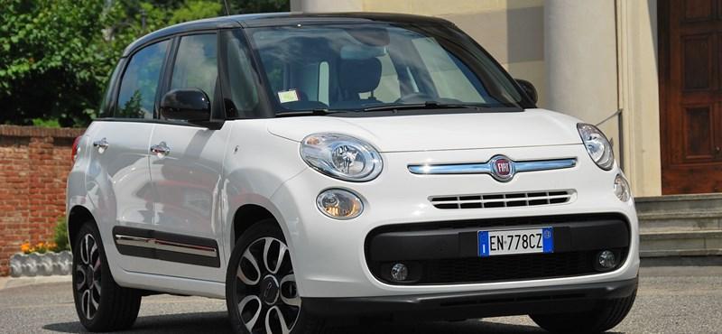 Fiat 500L teszt: még a kávét is lefőzi