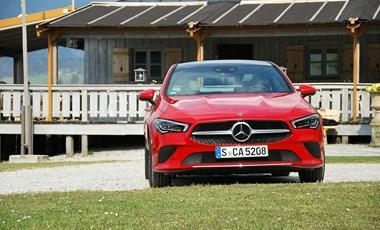 Mercedes CLA Coupé-menetpróba: mit tud az új kecskeméti autó?