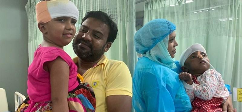 A sziámi ikreket szétválasztó orvoscsapat hazaért és a koronavírus elleni küzdelemben segít