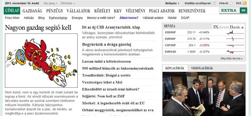 VG: kapósabb lett a magyar állampapír