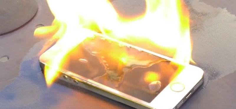 Videó: kigyulladt egy iPhone Las Vegasban