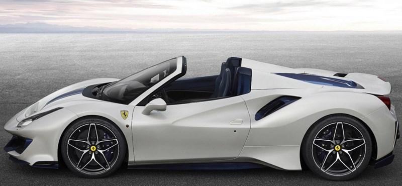 Meglepetés: itt a nyitható tetejű Ferrari 488 Pista