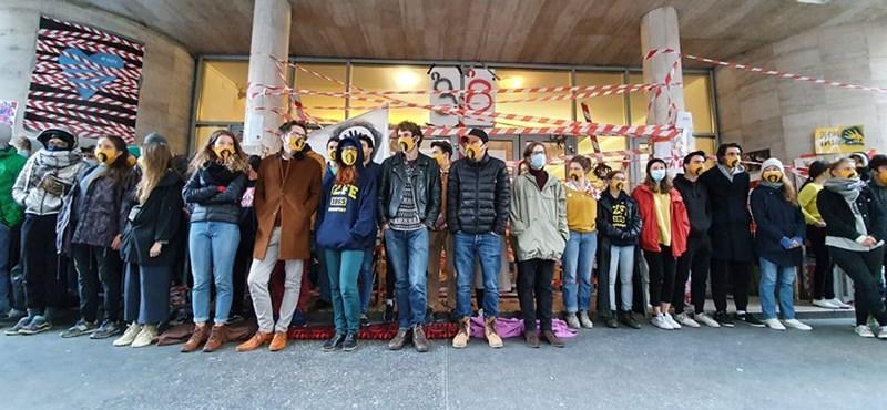 Elzárták a Színművészetisek elől az Ódry Színpadot