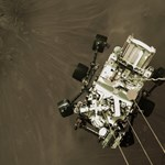 Landolás közben készült képet küldött magáról a Perseverance