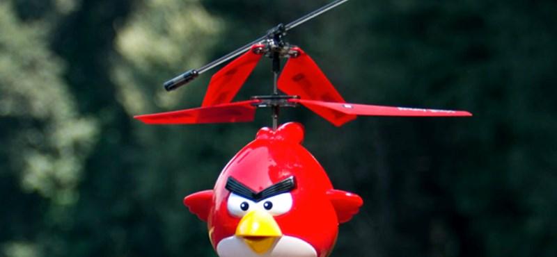 Immár helikopter változatban is elérhető az Angry Birds [videó]